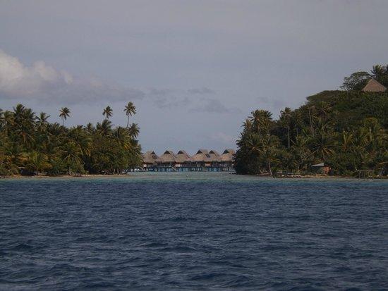 Conrad Bora Bora Nui: Arrivée Motu