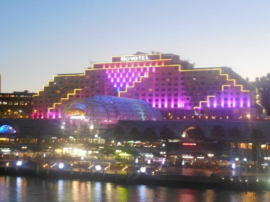 Novotel Sydney on Darling Harbour : Novotel - VIVID - a light show that takes your breathe away!