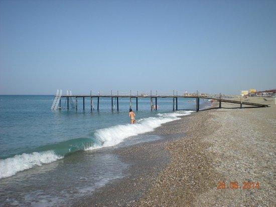 Ali Bey Club Manavgat: Пляж