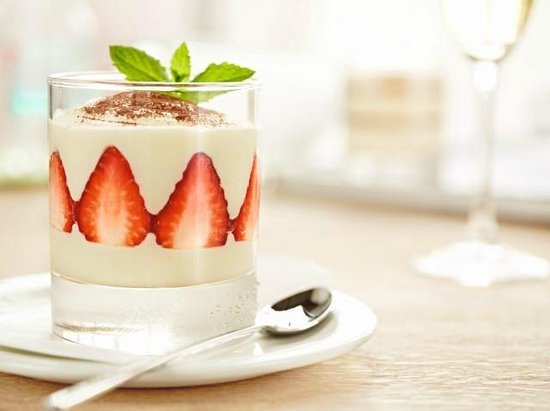 Vapiano: Our best-selling dolci - the Crema di Fragola