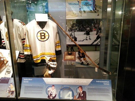 Hockey Hall of Fame: Go Bruins!