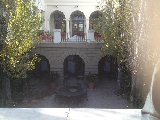 Cavas Wine Lodge: Espaço onde há apresentações de tango, musicas e afins