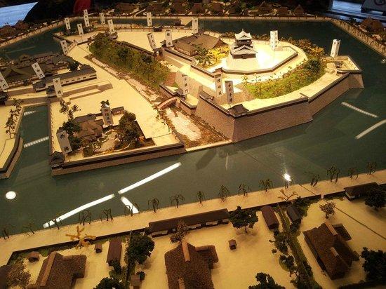 Maruoka Castle : 模型