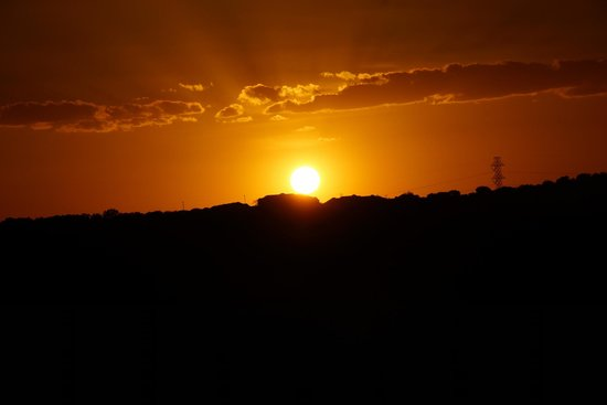 La Cantera Resort & Spa: Perfect sunset view from the ridge