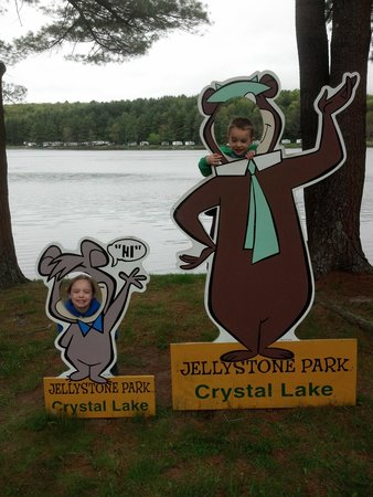 Yogi Bear's Jellystone Park - Cooperstown: the kids love it here!