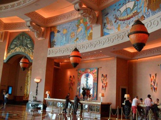 Atlantis, The Palm: HALL DO ATLANTIS THE PALM