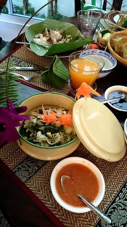 SSIP Boutique Dhevej Bangkok: Amazing Thai breakfast!