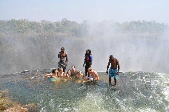 Livingstone, Zambia: DevilsPool