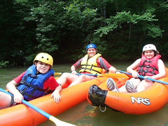 Green River Adventures: Having fun