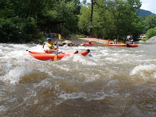 Green River Adventures : A little white water