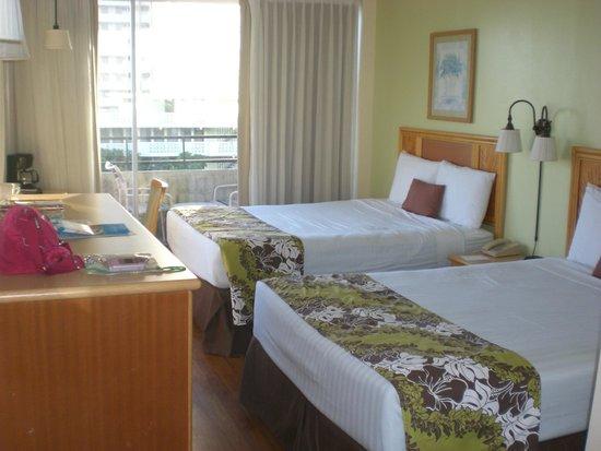 Waikiki Sand Villa Hotel: ホテルの部屋