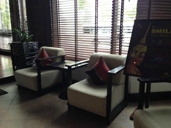 Tara Angkor Hotel : Sitting Area
