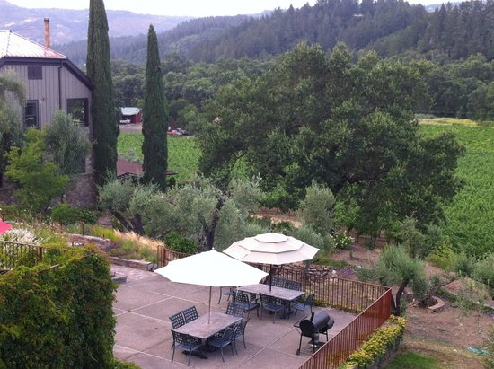 Wine Country Inn & Cottages: Great view from our room #11