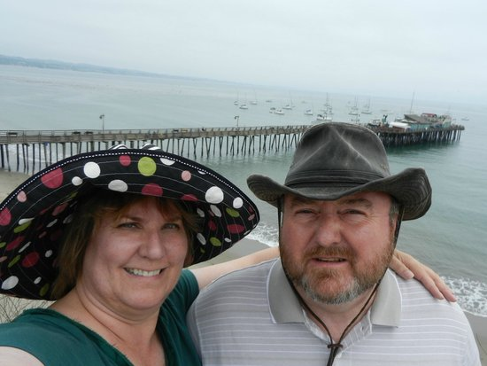 Capitola Beach: A great place for an after dinner stroll