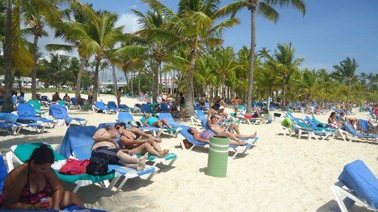 Hotel Riu Palace Punta Cana : Playa arenas blancas