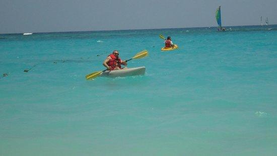 Hotel Riu Palace Punta Cana: Kayak (provee el hotel)