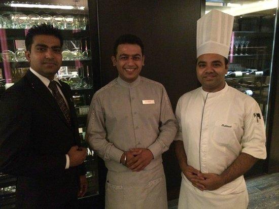 Hilton Bangalore Embassy GolfLinks: First class dining team