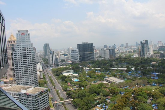 SO Sofitel Bangkok: View from the roof