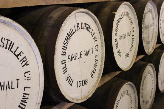 Bushmills Distillery: Barrels!