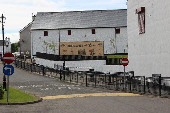 Bushmills Distillery: Outside the distillery