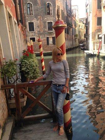 Starhotels Splendid Venice: Вход со стороны канала