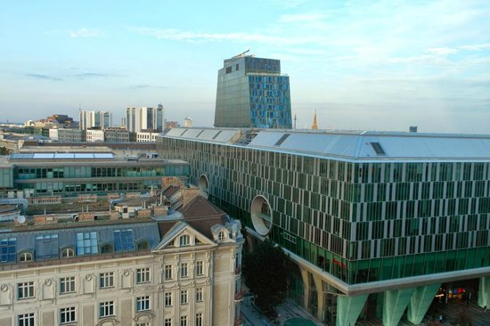 Hilton Vienna: View from Executive Twin Room