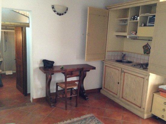 Agriturismo Il Poggiarello : Living room/Kitchen