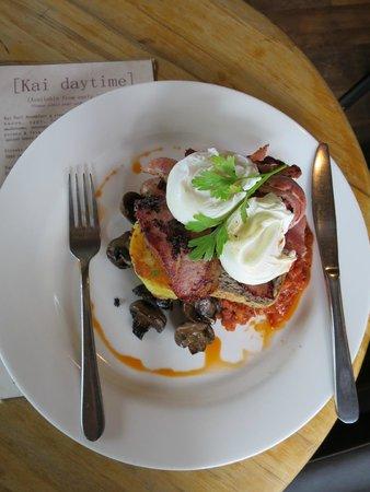 Kai Whakapai Cafe and Bar: Big breakfast!!!! YUM!!!
