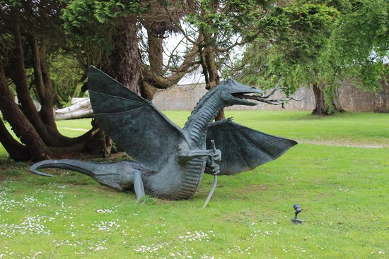 Lough Eske Castle, a Solis Hotel & Spa: Dragon!