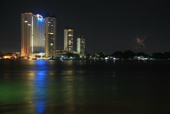 From Asiatic Riverfront over Chao Phraya River