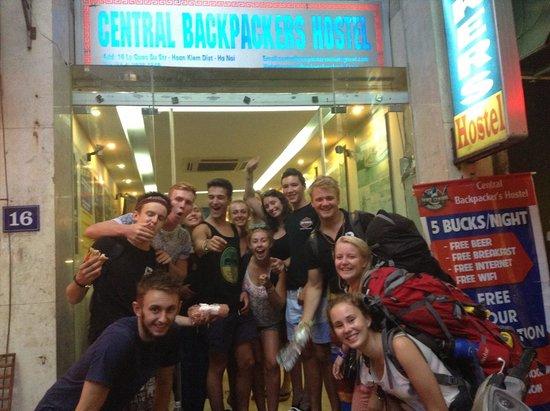 Central Backpackers Hostel - Original: Front door