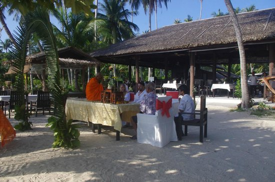 The Island View Restaurant : Ceremony Island View Restaurant