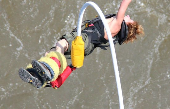 Shearwater Victoria Falls - Bungee, Bridge Tours and Activities: Victoria Falls Bungee = Joyful