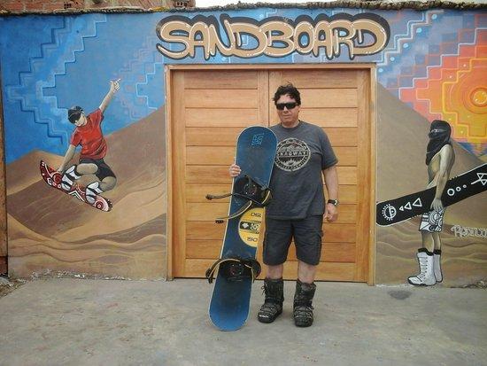 """Sandride Sandboarding: Sandride """"HomeBase"""""""