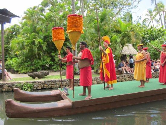 Polynesian Cultural Center: Canoe Parade of Islands