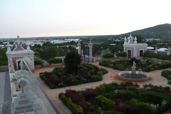 Pousada Palacio de Estoi : View from restaurante
