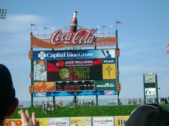 Coca-Cola Park: The Big Scoreboard