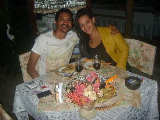 Pousada Paraguaya : Pizza e vinho