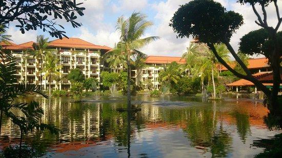 Ayodya Resort Bali : 中庭