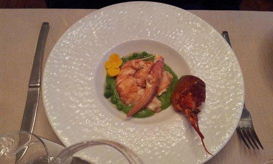 Hostellerie de la Porte Bellon Restaurant: demi homard