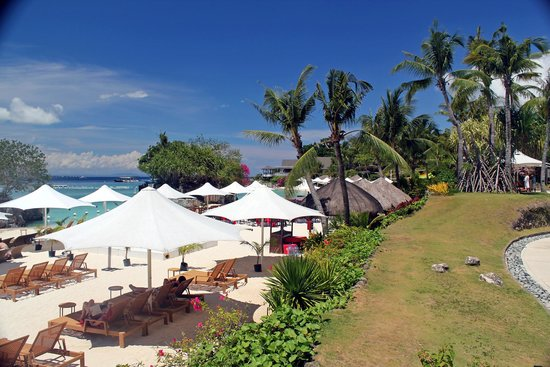Shangri-La's Mactan Resort & Spa: BEACH