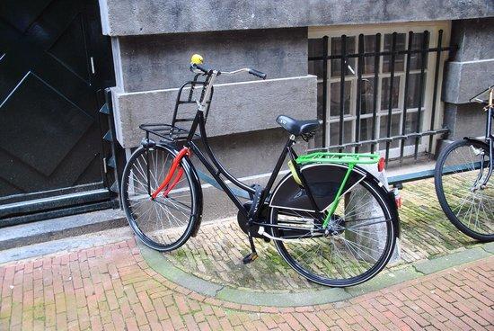 Festive bike, Amsterdam, Vondelpark 2013