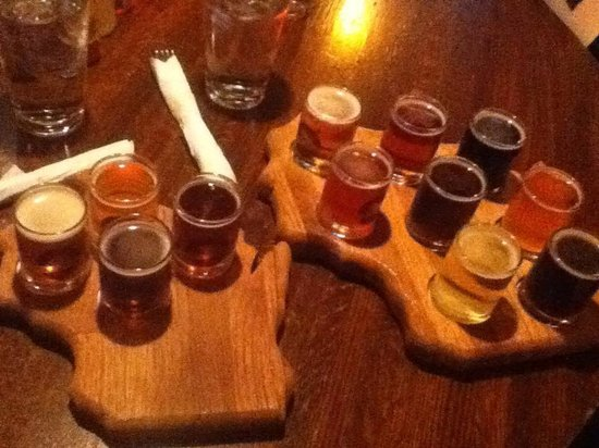 The Old Fashioned : Beer flight
