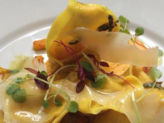 Benedicts of Whalley: butternut squash tortellini