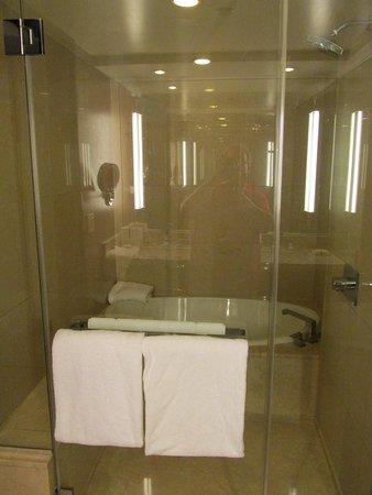 ARIA Resort & Casino: Shower/tub