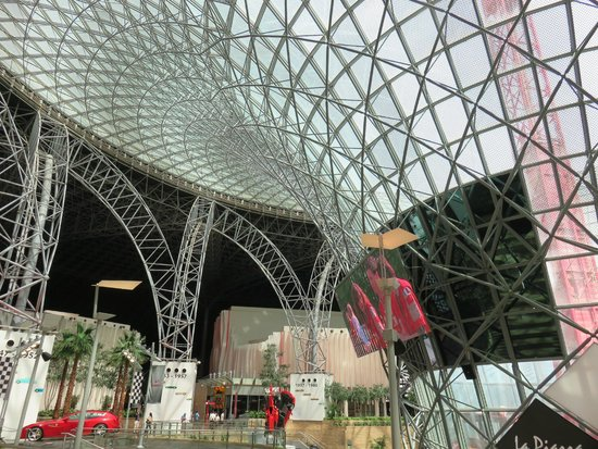magnificent roof structure picture of ferrari world abu
