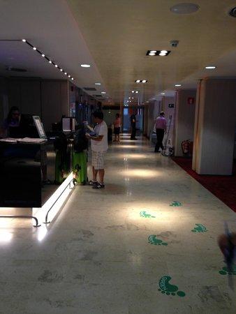 Ayre Gran Hotel Colon: reception