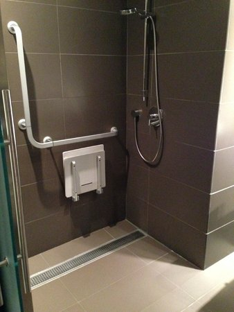 Ayre Gran Hotel Colon: Shower only in disabled room