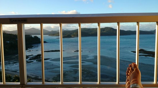 Reef View Hotel: Pemandangan balkon