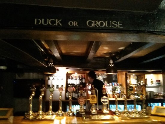 Ye Olde Six Bells: Duck or grouse